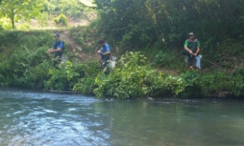 38a edizione del Campionato italiano di pesca alla trota torrente spinning